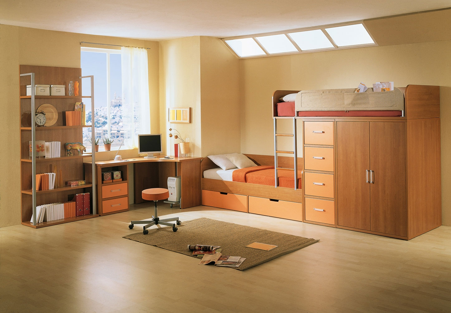 Ремонт квартир для 3 детей и рабочий столом